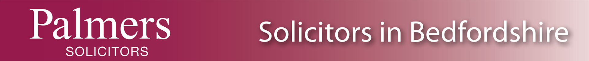 palmers solicitors in Bedfordshire